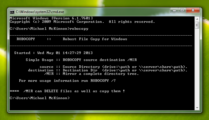 How to do Windows Backups with Robocopy – Tips & Tricks | Michael
