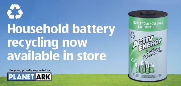 recycle your batteries at aldi supermarkets michael mckinnon. Black Bedroom Furniture Sets. Home Design Ideas